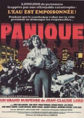 Panique – Film de Jean-Claude Lord