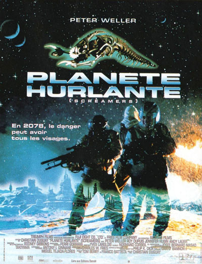 Affiche du film Screamers (Planete hurlante) (Duguay, 1995)