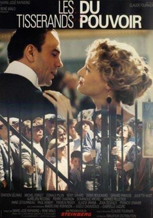 Affiche du film Les Tisserands du pouvoir (Partie 1) - Coll. Cinémathèque québécoise