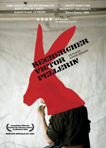 Affiche de Rechercher Victor Pellerin – Film de Sophie Deraspe