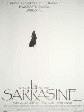 Affiche du film de Paul Tana La Sarrasine