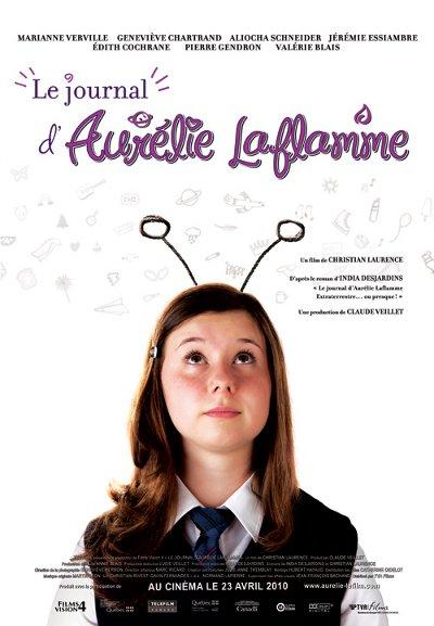 Affiche de Journal d'Aurélie Laflamme, Le – Film de Christian Laurence