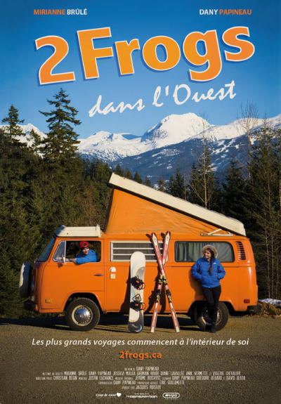 Affiche du film 2 Frogs dans l'Ouest (Dany Papineau, 2010)