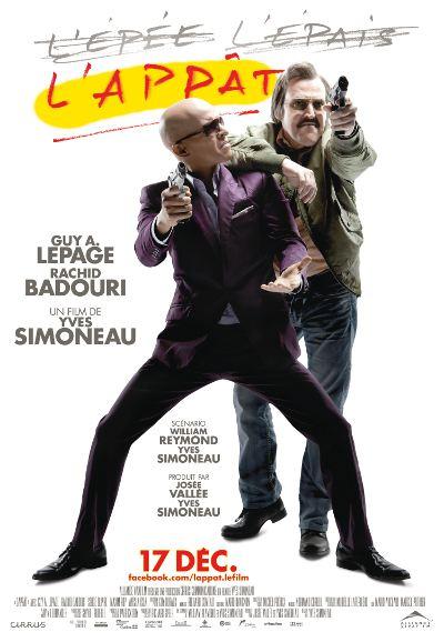 Affiche du film L'appât de Yves Simoneau (2010, Alliance Vivafilm)