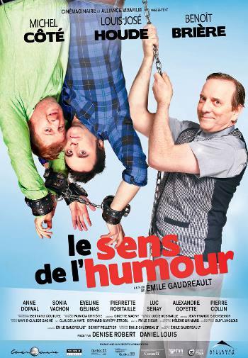 Affiche du film Le sens de l'humour d'Émile Gaudreault (© Alliance Vivafilm)