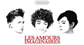 Bannière pub pour le film Les amours imaginaires