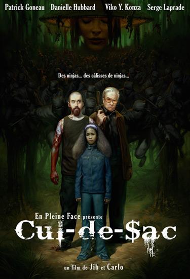 Cul-de-sac (Affiche du Film de Jean-Mathieu Bérubé et Carlo Harrieta)