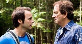Louis-José Houde et Michel Côté dans De père en flic - Copyright: Alliance Vivafilm