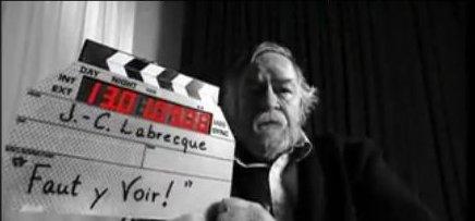 Le cinéaste Jean-Claude Labrecque