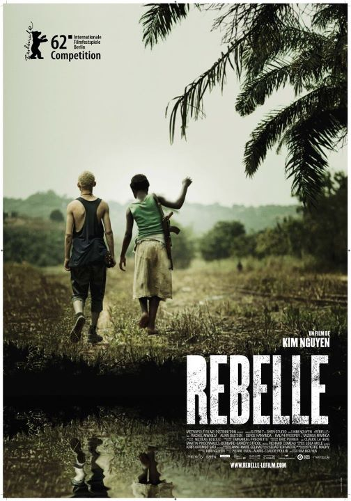 Rebelle (War Witch) de Kim Nguyen (affiche du film)