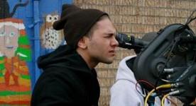Dolan en tournage sur Les amours imaginaires