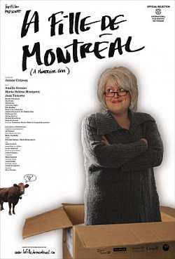 Affiche du film La fille de Montréal de Jeanne Crépeau (©Box Films)