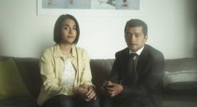 Francesca Bárcenas, Claudio Cáceres dans L'incrédule de Federico Hidalgo