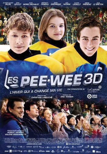 Affiche du film Les Pee Wee 3D (© Films Christal)