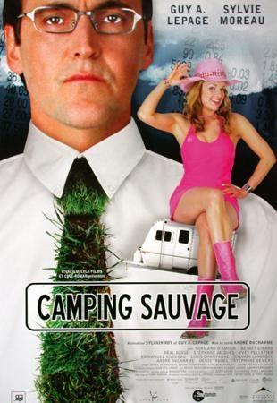 Affiche de la comédie Camping sauvage (2004, Alliance Vivafilm)