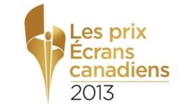 Logo 2013 des Prix Écrans canadiens