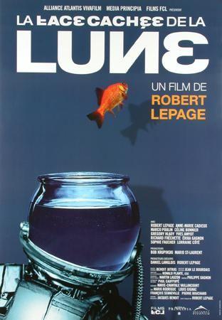 Affiche du film La face cachée de la lune (Robert Lepage, 2003 - Alliance Vivafilm)