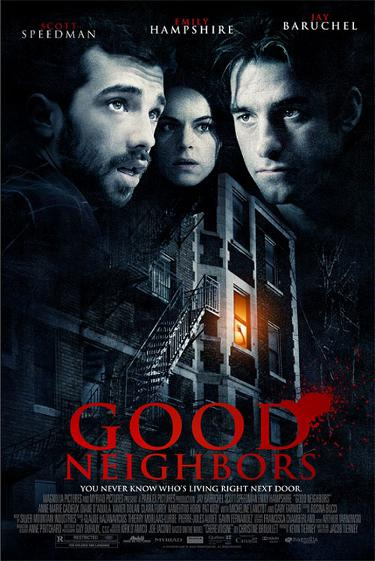 Affiche américaine du film Good Neighbours de Jacob Tierney