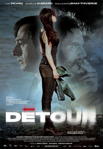 Affiche du film Détour (Sylvain Guy, 2009 - Films Séville))