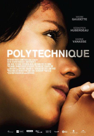 Affiche du drame québécois Polytechnique (2008, Denis Villeneuve - Alliance)