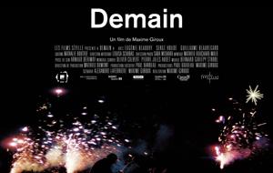 Affichette du film Demain de Maxime Giroux (©Nù Films- Reprise Films)