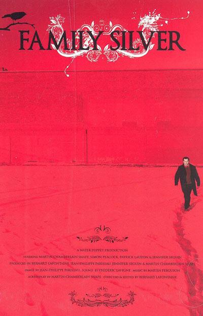 Affiche du film québécois indépendant Family Silver (Coll. personnelle)