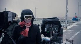Tournage du film Les loups de Sophie Deraspe (ici sur la photo - Jean-Christophe Yacono)