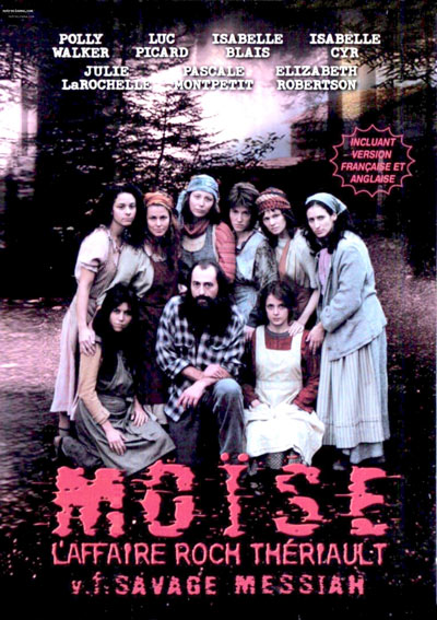 Jaquette DVD du film Moïse l'affaire Roch Thériault (Savage Messiah, Azzopardi, 2000)