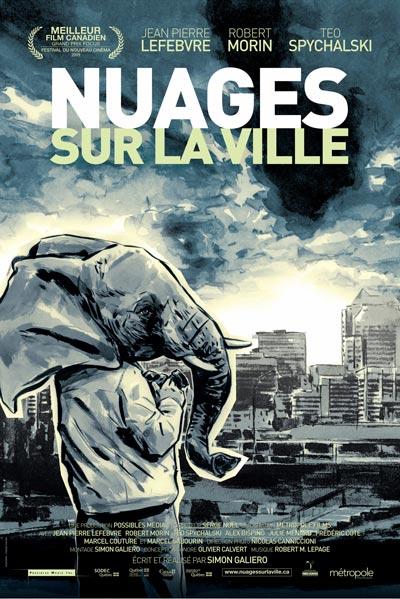 Affiche du film Nuages sur la ville (Galiero, 2009 - ©Métropole)