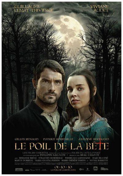 Affiche finale du film Le poil de la bête (Philippe Gagnon, 2010 - Christal)