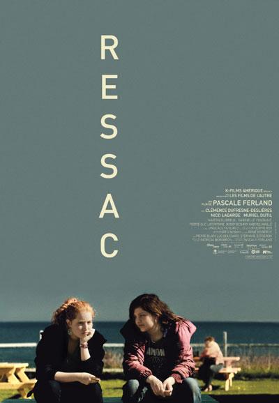 Affiche du film Ressac (Pascale Ferland, 2013 - prod. Les Films de l'autre - dist. K-Films Amérique)