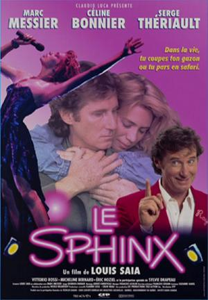 Affiche du film Le sphinx de Louis Saia