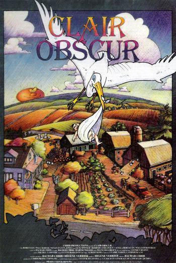 Affiche du film Stork (Clair Obscur) de Bashar Shbib (source image: Oneira Pictures)