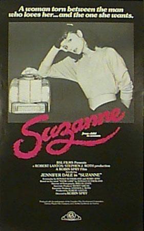 Affiche du film Suzanne de Robin Spry (coll. Cinémathèque québécoise)