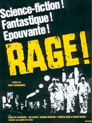 Affiche francaise du film Rabid de david Cronenberg (1977)