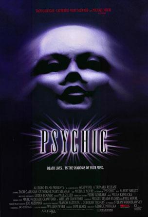 Affiche du film d'horreur Psychic (Mihalka, 1991)