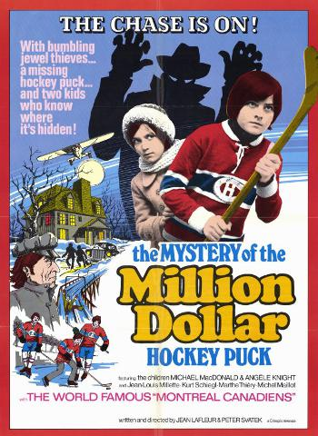 Affiche du film The Mystery of the Million Dollar Hockey Puck