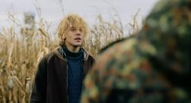 Xavier Dolan dans Tom à la ferme (© Films Séville)