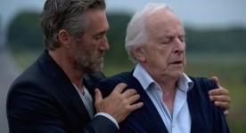 Roy Dupuis et Marcel Sabourin dans le film L'autre maison (Mathieu Roy, 2013 - TVA)