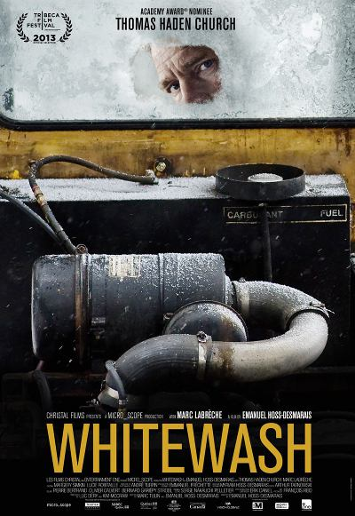 Affiche du film Whitewash (Emanuel Hoss-Desmarais, 2013 - micro_scope, Films Séville)