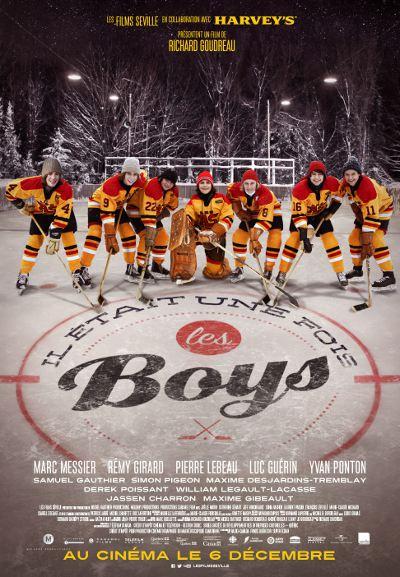 Affiche du film Il était une fois les boys (Richard Goudreau 2013 - ©eOne Entertainment)
