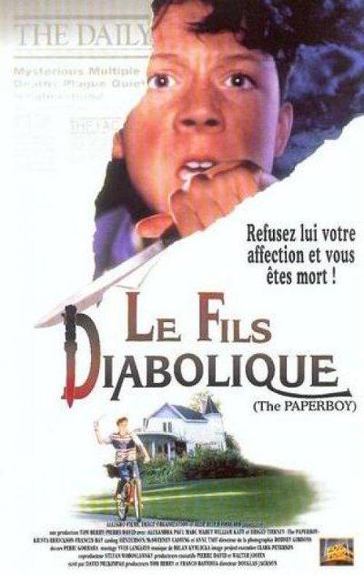 Jaquette VHS française du film Le fils diabolique (Paperboy, Douglas Jackson - 1994)