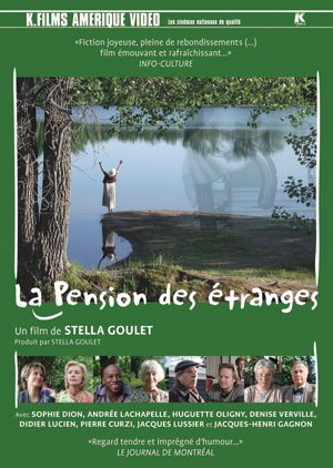 Pochette DVD du film La pension des étranges (K-Films)