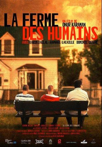 Affiche finale du film La ferme des humains (Onur Karaman, 2012 - Domino Films)