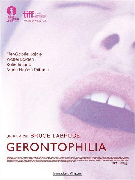Affiche française du film Gerontophilia (2013, Bruce LaBruce)