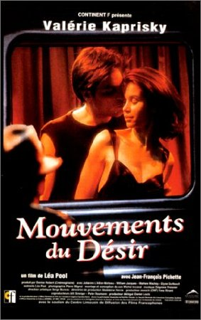 Affiche française du film Mouvements du désir (Léa Pool)