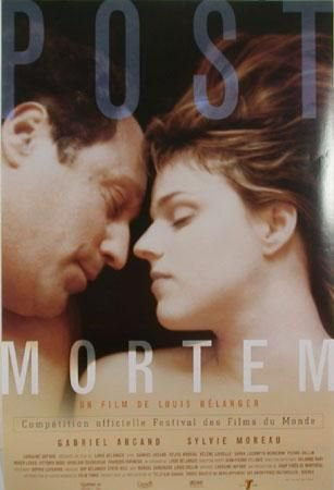 Affiche du film Post mortem (Louis Bélanger, 1999, ©Film Tonic)