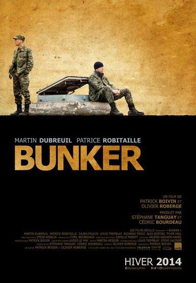 Affiche du film Bunker (2014, prod. Kinésis, dist. Films Séville)