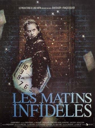 Affiche du film Les matins infideles (Coll. Cinémathèque québécoise)