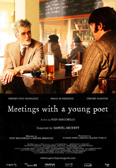 Affiche du film Meetings with a Young Poet (R. Barichello, 2014)